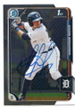 DIXON MACHADO DETROIT TIGERS AUTOGRAPHED ROOKIE BASEBALL CARD #62816C