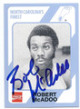 BOB McADOO NORTH CAROLINA TAR HEELS AUTOGRAPHED VINTAGE BASKETBALL CARD #62816D