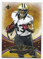 DARREN SPROLES NEW ORLEANS SAINTS AUTOGRAPHED & NUMBERED FOOTBALL CARD #63016B