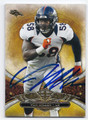 VON MILLER DENVER BRONCOS AUTOGRAPHED FOOTBALL CARD #70116A
