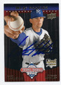 LUKE HOCHEVAR KANSAS CITY ROYALS AUTOGRAPHED ROOKIE BASEBALL CARD #70316A