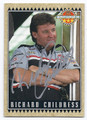 RICHARD CHILDRESS AUTOGRAPHED NASCAR CARD #70316E