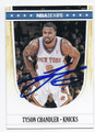 TYSON CHANDLER NEW YORK KNICKS AUTOGRAPHED BASKETBALL CARD #70516D