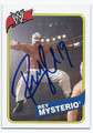 REY MYSTERIO AUTOGRAPHED WRESTLING CARD #70716F