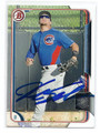 KYLE SCHWARBER CHICAGO CUBS AUTOGRAPHED ROOKIE BASEBALL CARD #70816F