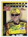 SCOTT WIMMER AUTOGRAPHED NASCAR MINI CARD #70916C