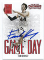 FRANK KAMINSKY UNIVERSITY OF WISCONSIN BADGERS AUTOGRAPHED ROOKIE BASKETBALL CARD #70916D