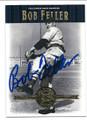 BOB FELLER CLEVELAND INDIANS AUTOGRAPHED BASEBALL CARD #70916F