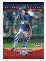 CHIN-LUNG HU LOS ANGELES DODGERS AUTOGRAPHED ROOKIE BASEBALL CARD #71116B