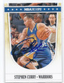 STEPHEN CURRY GOLDEN STATE WARRIORS AUTOGRAPHED BASKETBALL CARD #71416F