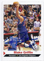 BLAKE GRIFFIN LOS ANGELES CLIPPERS AUTOGRAPHED BASKETBALL CARD #71616A