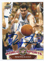 DANNY FERRY DUKE UNIVERSITY BLUE DEVILS AUTOGRAPHED BASKETBALL CARD #71916A