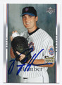 PHIL HUMBER NEW YORK METS AUTOGRAPHED ROOKIE BASEBALL CARD #72016A