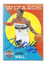 JOHN WALL WASHINGTON WIZARDS AUTOGRAPHED BASKETBALL CARD #72016F