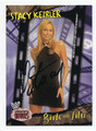 STACY KEIBLER AUTOGRAPHED WRESTLING CARD #72316F