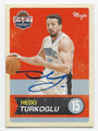 HEDO TURKOGLU ORLANDO MAGIC AUTOGRAPHED BASKETBALL CARD #72616C