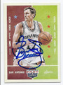 BRENT BARRY SAN ANTONIO SPURS AUTOGRAPHED BASKETBALL CARD #72616E