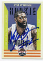 KYLE O'QUINN ORLANDO MAGIC AUTOGRAPHED ROOKIE BASKETBALL CARD #72716B