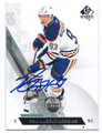 RYAN NUGENT-HOPKINS EDMONTON OILERS AUTOGRAPHED HOCKEY CARD #72816F
