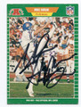 MIKE HORAN DENVER BRONCOS AUTOGRAPHED VINTAGE FOOTBALL CARD #73016B