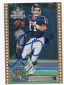 PHIL SIMMS AUTOGRAPHED FOOTBALL CARD #80116B