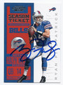 RYAN FITZPATRICK BUFFALO BILLS AUTOGRAPHED FOOTBALL CARD #80216B