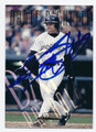DANTE BICHETTE COLORADO ROCKIES AUTOGRAPHED BASEBALL CARD #80416A