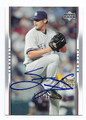SEAN HENN NEW YORK YANKEES AUTOGRAPHED ROOKIE BASEBALL CARD #80516A