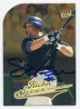 RICKIE SEXSON ARIZONA DIAMONDBACKS AUTOGRAPHED BASEBALL CARD #80716B