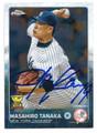 MASAHIRO TANAKA NEW YORK YANKEES AUTOGRAPHED BASEBALL CARD #80716F