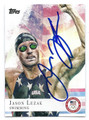 JASON LEZAK OLYMPIC SWIMMING AUTOGRAPHED CARD #80916D
