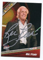 RIC FLAIR AUTOGRAPHED WRESTLING CARD #81016B