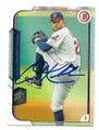 COREY KLUBER CLEVELAND INDIANS AUTOGRAPHED BASEBALL CARD #81216A
