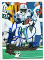 MICHAEL IRVIN DALLAS COWBOYS AUTOGRAPHED FOOTBALL CARD #81216C