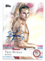 TROY DUMAIS OLYMPIC DIVING AUTOGRAPHED CARD #81216D