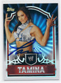 TAMINA AUTOGRAPHED WRESTLING CARD #81216F