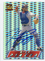 MIKE PIAZZA LOS ANGELES DODGERS AUTOGRAPHED BASEBALL CARD #81616C