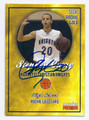 STEPHEN CURRY CHARLOTTE CHRISTIAN KNIGHTS HIGH SCHOOL AUTOGRAPHED ROOKIE BASKETBALL CARD #81816B