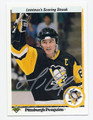 MARIO LEMIEUX PITTSBURGH PENGUINS AUTOGRAPHED HOCKEY CARD #81816D