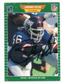 LAWRENCE TAYLOR NEW YORK GIANTS AUTOGRAPHED VINTAGE FOOTBALL CARD #81816E