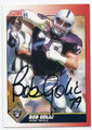 BOB GOLIC LOS ANGELES RAIDERS AUTOGRAPHED FOOTBALL CARD #81816F
