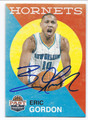 ERIC GORDON NEW ORLEANS HORNETS AUTOGRAPHED BASKETBALL CARD #81916B