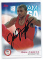 JOHN OROZCO 2016 US OLYMPIC TEAM AUTOGRAPHED CARD #81916F