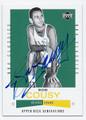 BOB COUSY BOSTON CELTICS AUTOGRAPHED BASKETBALL CARD #82116E