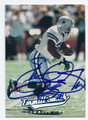 EMMITT SMITH DALLAS COWBOYS AUTOGRAPHED FOOTBALL CARD #82416B