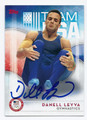 DANELL LEYVA USA MENS OLYMPIC GYMNASTICS TEAM AUTOGRAPHED CARD #82416C
