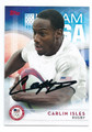 CARLIN ISLES US OLYMPIC RUGBY TEAM AUTOGRAPHED OLYMPICS CARD #82416F