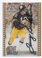 TERRY BRADSHAW PITTSBURGH STEELERS AUTOGRAPHED FOOTBALL CARD #82516F