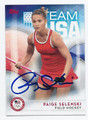 PAIGE SELENSKI US OLYMPIC FIELD HOCKEY TEAM AUTOGRAPHED CARD #82616A