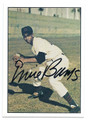 ERNIE BANKS CHICAGO CUBS AUTOGRAPHED VINTAGE BASEBALL CARD #82616D